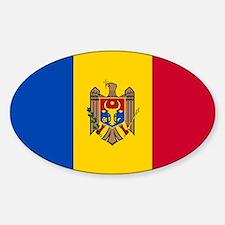 Flag of Moldova Decal