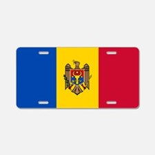 Flag of Moldova Aluminum License Plate