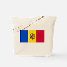 Flag of Moldova Tote Bag