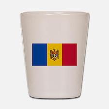 Flag of Moldova Shot Glass
