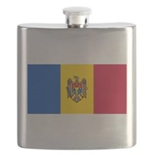 Flag of Moldova Flask