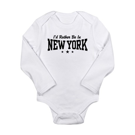 I'd Rather Be In New York Body Suit