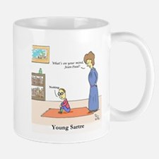 Young Sartre Mugs