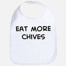 Eat more Chives Bib