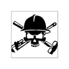 Oilfield Skull Sticker