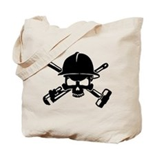 Oilfield Skull Tote Bag