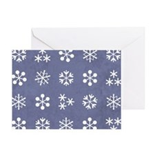 SNOWFLAKES Greeting Card