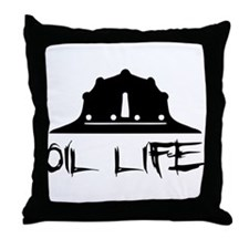 oillife2 Throw Pillow