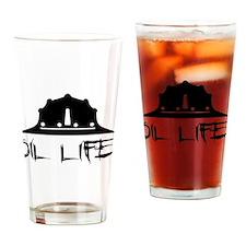 oillife2 Drinking Glass