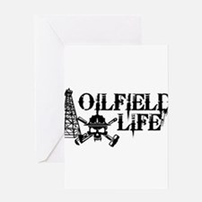 oilfieldlife2 Greeting Cards