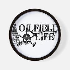 oilfieldlife2 Wall Clock