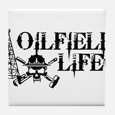 oilfieldlife2 Tile Coaster