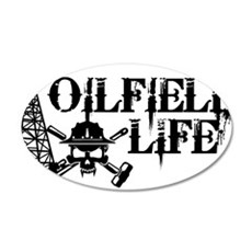 oilfieldlife2 Wall Decal