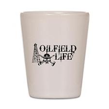 oilfieldlife2 Shot Glass