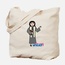 Preacher Woman Medium Tote Bag