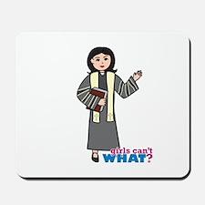 Preacher Woman Medium Mousepad