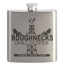 Roughnecks Drill Deeper Flask