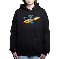Rocket Scientist Rocket Ship Hooded Sweatshirt