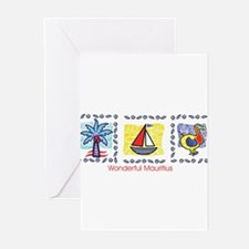wonderful Mauritius Greeting Cards (Pk of 10)