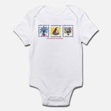 wonderful Mauritius Infant Bodysuit