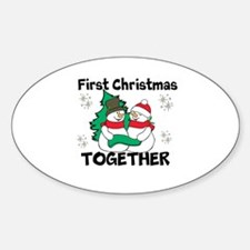Cute First Christmas Together Decal