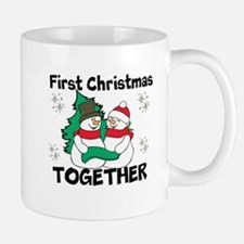 Cute First Christmas Together Mugs