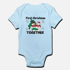 Cute First Christmas Together Body Suit