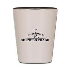 Roughneck Oilfield Trash Shot Glass