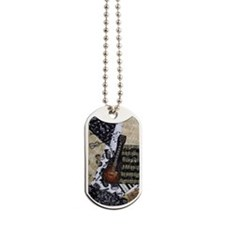 Electric Guitar Dog Tags