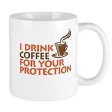 for your protection Mugs