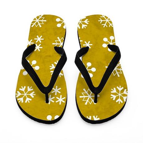 SNOWFLAKES Flip Flops