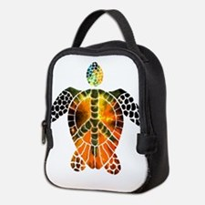 sea turtle-3 Neoprene Lunch Bag