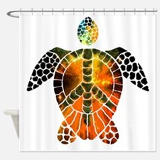 sea turtle-3 Shower Curtain