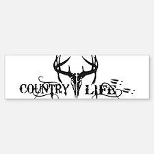 country life Bumper Car Car Sticker
