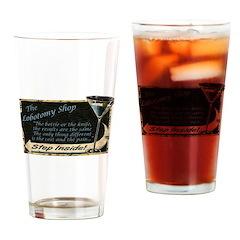 Lobotomy Shop Drinking Glass