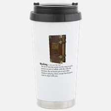 Cute Acting humor Travel Mug