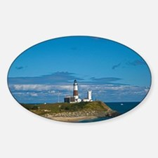 Montauk Point Lighthouse Sticker (Oval)