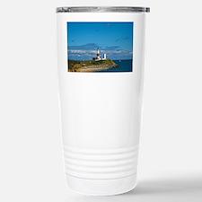 Montauk Point Lighthous Stainless Steel Travel Mug