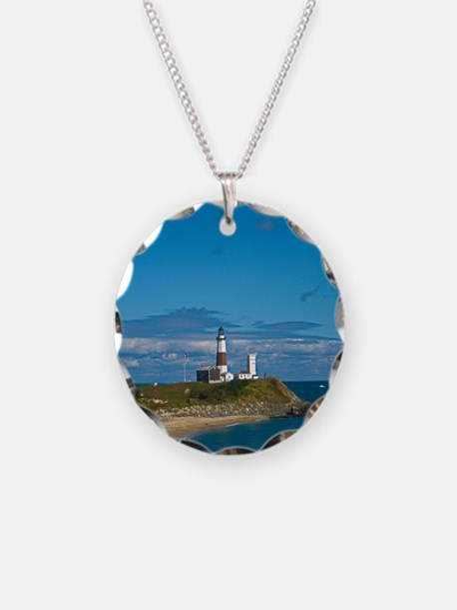 Montauk Point Lighthouse Necklace