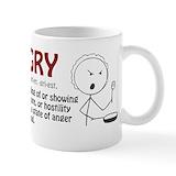 Hangry Small Mugs (11 oz)