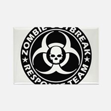 Zombie Outbreak Response Team Magnets