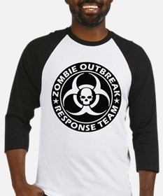 Zombie Outbreak Response Team Baseball Jersey