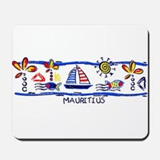 Mauritius beach Mousepad