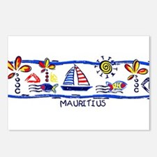 Mauritius beach Postcards (Package of 8)