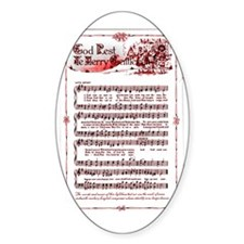 GOD REST YE MERRY GENTLEMEN SONG;'[ Decal