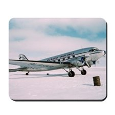Vintage Alaska Airlines airplane classic Mousepad