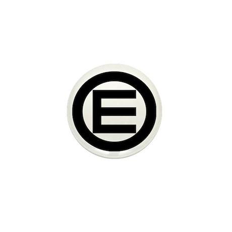 Egalitarian and Equality Logo Mini Button