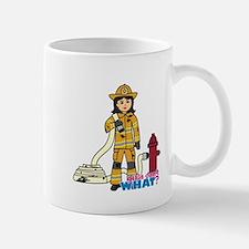 Firefighter Woman Medium Mug