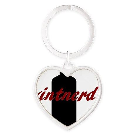 Vintnerd Heart Keychain