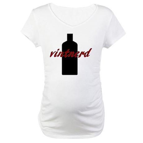 Vintnerd Maternity T-Shirt